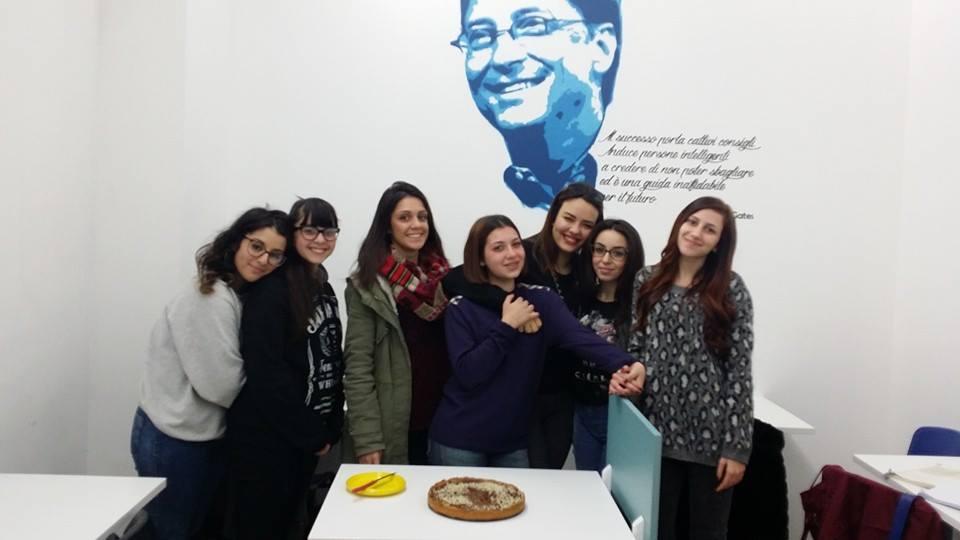 Gli studenti del Centro Studi La Bussola di Manfredonia